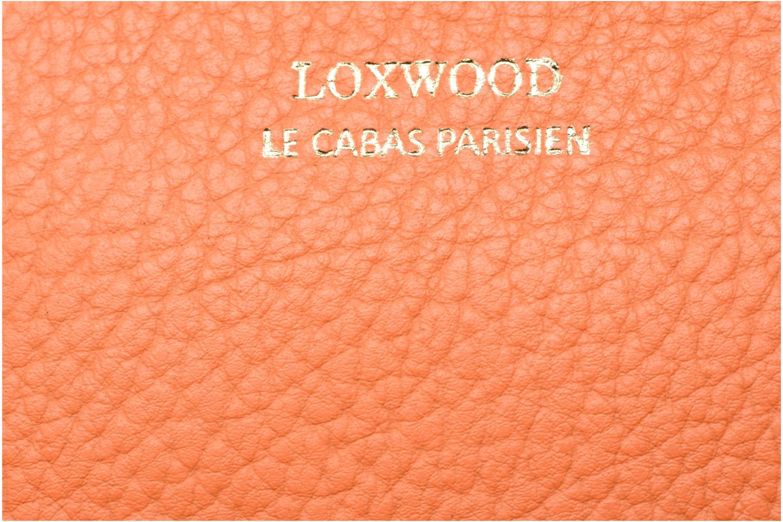 Sacs à main Loxwood Double zip Orange vue gauche