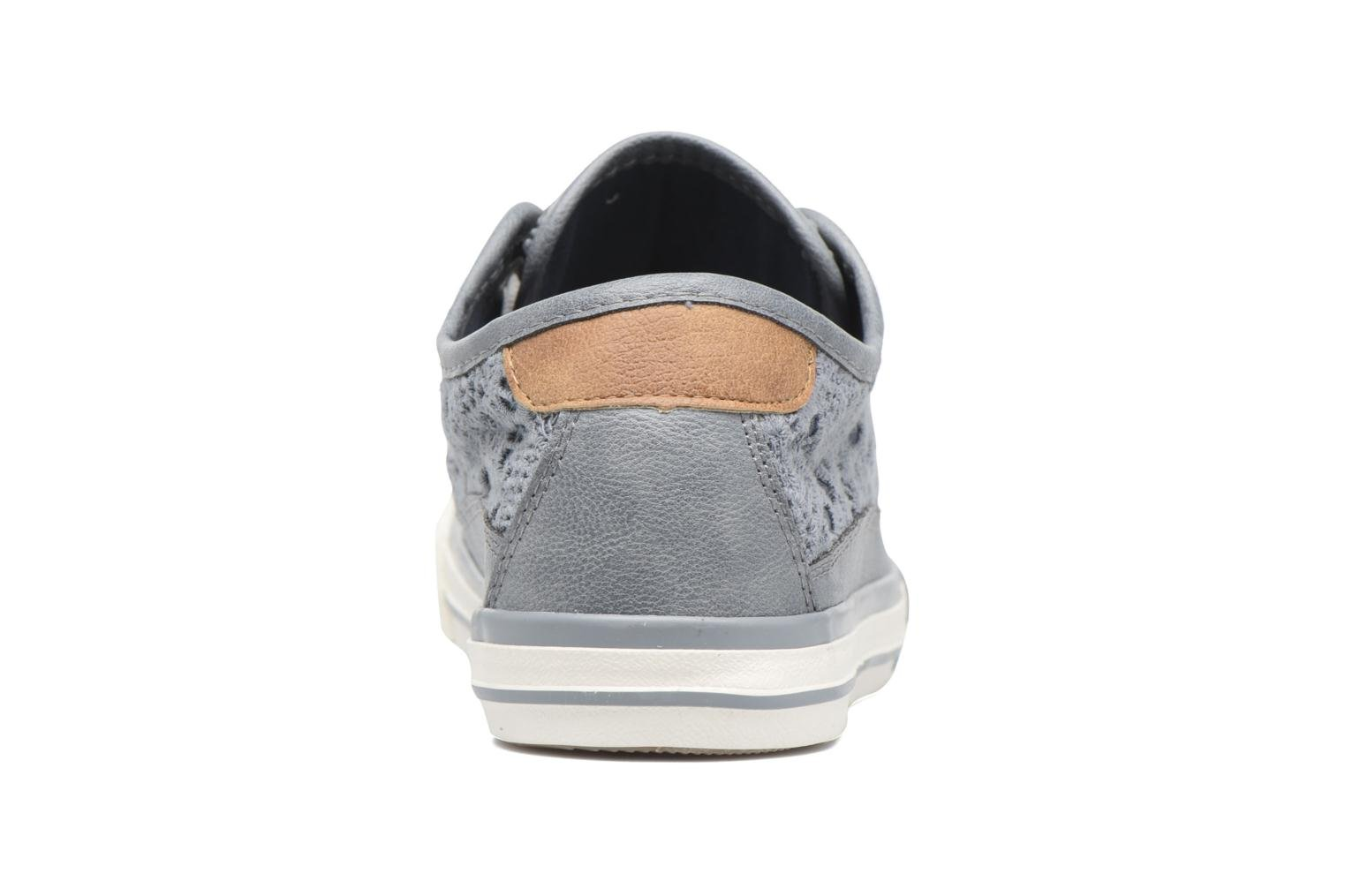 Baskets Mustang shoes Smith N Bleu vue droite