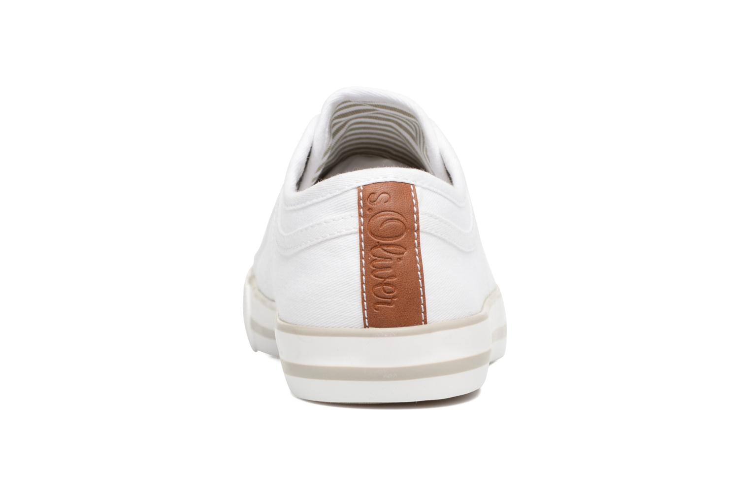 Baskets S.Oliver Topinambour Blanc vue droite