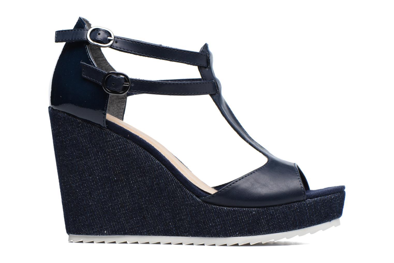 Sandales et nu-pieds S.Oliver Prune Bleu vue derrière