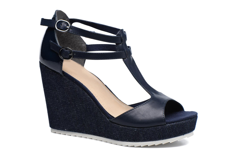Sandales et nu-pieds S.Oliver Prune Bleu vue détail/paire