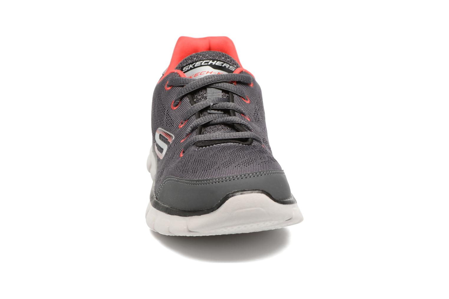 Synergy Fine-Tune Charcoal/red