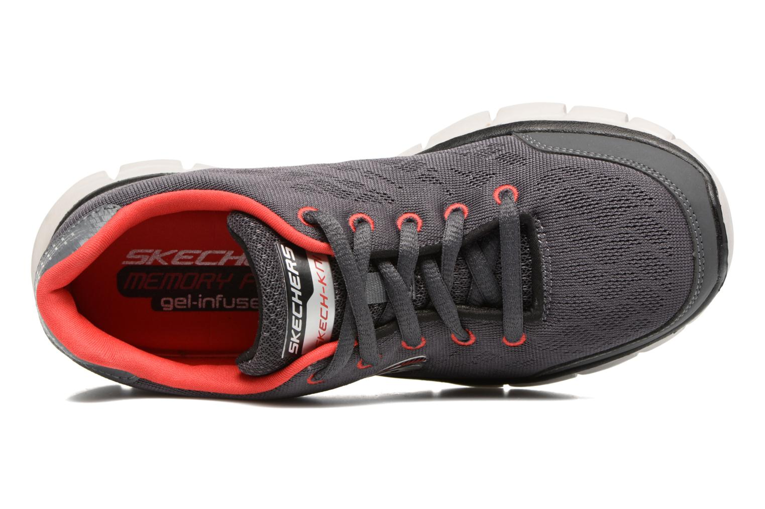Baskets Skechers Synergy Fine-Tune Gris vue gauche