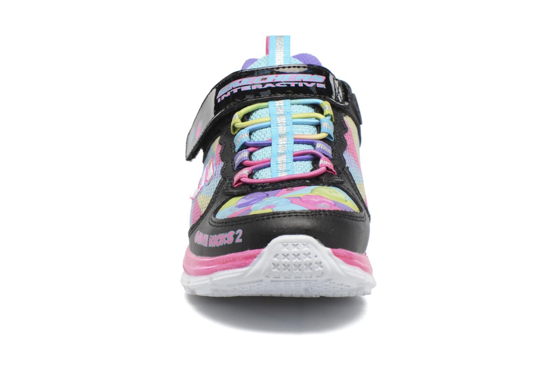 Baskets Skechers Juicy Smash Game Kicks 2 Multicolore vue portées chaussures