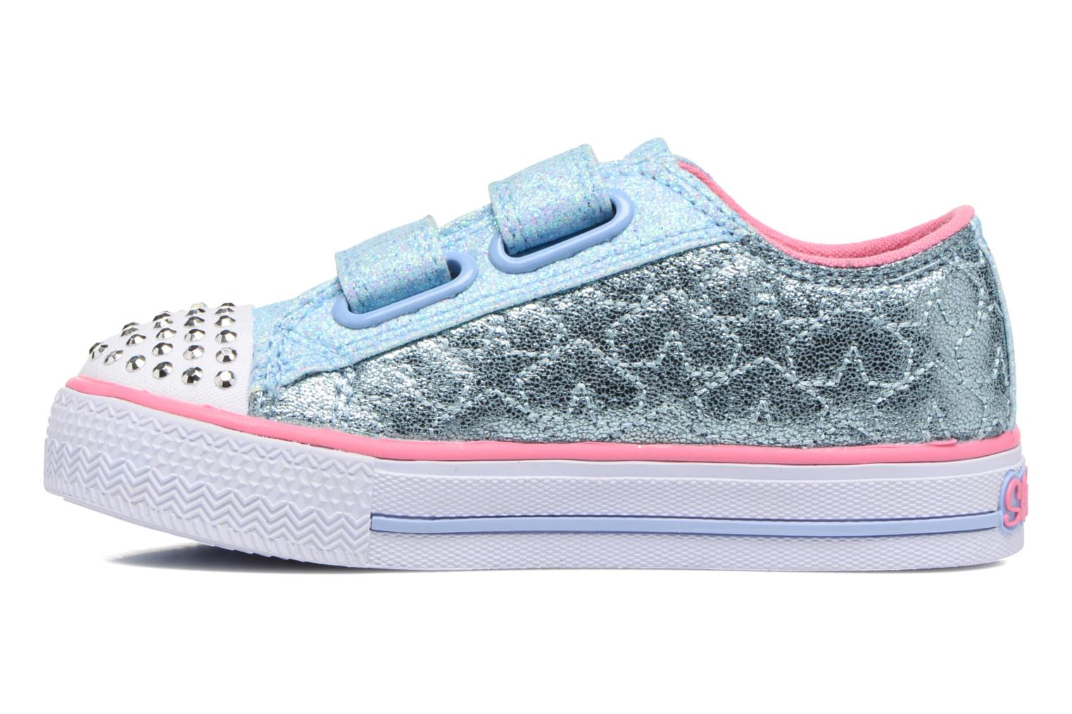 Baskets Skechers Shuffles Starlight Style Gris vue face