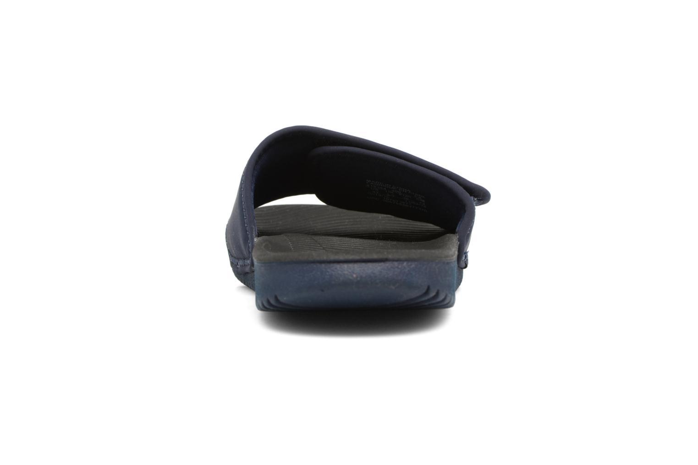 Sandales et nu-pieds Nike Nike Kawa Adjust (Gs/Ps) Bleu vue droite