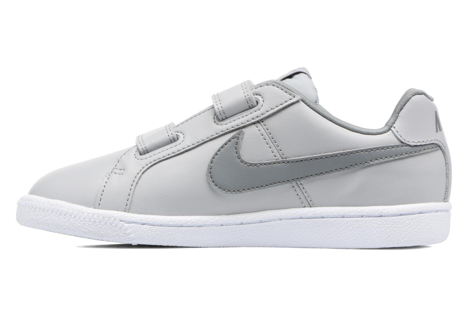 Baskets Nike Nike Court Royale (Psv) Gris vue face