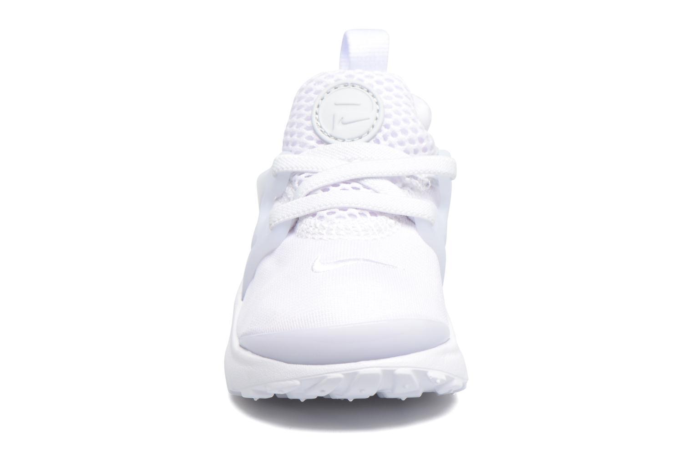 Baskets Nike Nike Little Presto (Td) Blanc vue portées chaussures