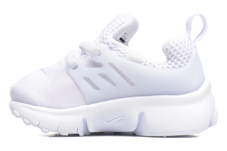 Baskets Nike Nike Little Presto (Td) Blanc vue face
