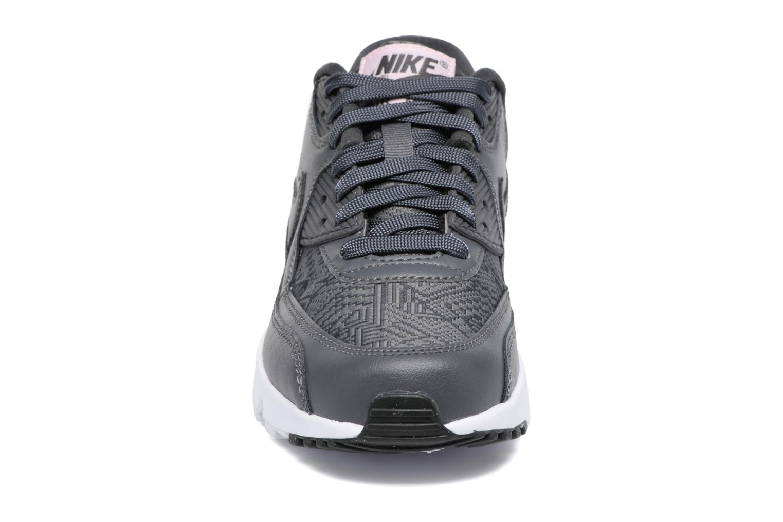 Baskets Nike Nike Air Max 90 Se Mesh (Gs) Gris vue portées chaussures