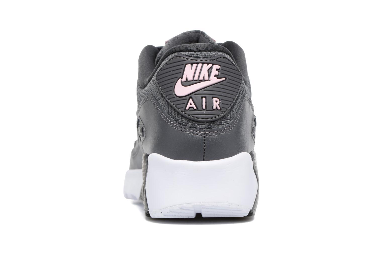 Baskets Nike Nike Air Max 90 Se Mesh (Gs) Gris vue droite