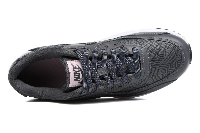 Baskets Nike Nike Air Max 90 Se Mesh (Gs) Gris vue gauche