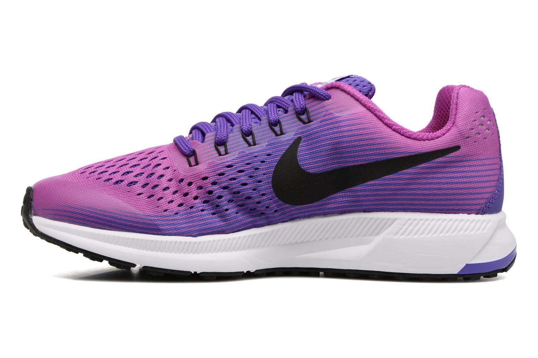 Baskets Nike Nike Zoom Pegasus 34 (Gs) Violet vue face