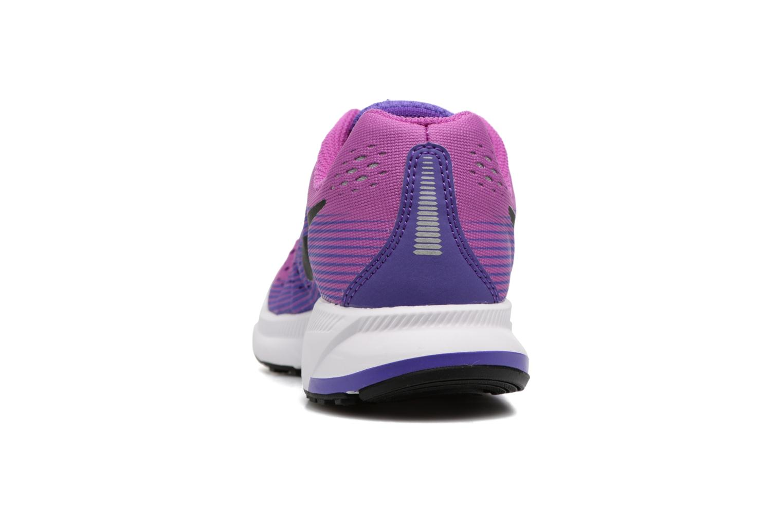 Baskets Nike Nike Zoom Pegasus 34 (Gs) Violet vue droite