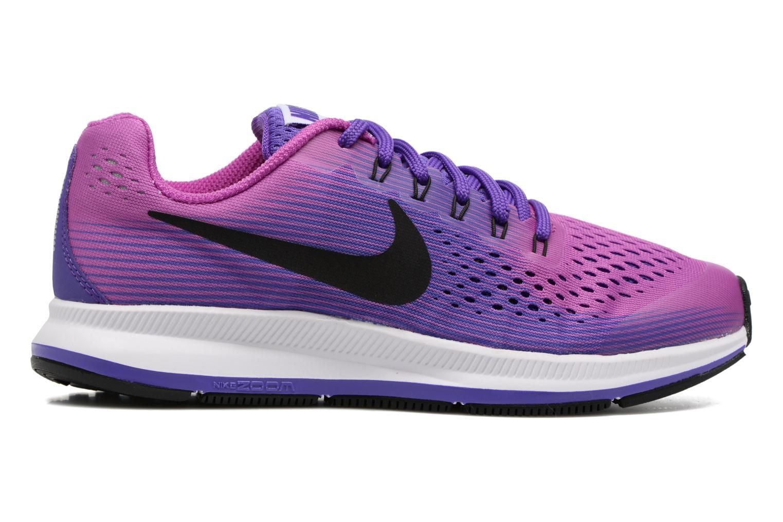 Baskets Nike Nike Zoom Pegasus 34 (Gs) Violet vue derrière
