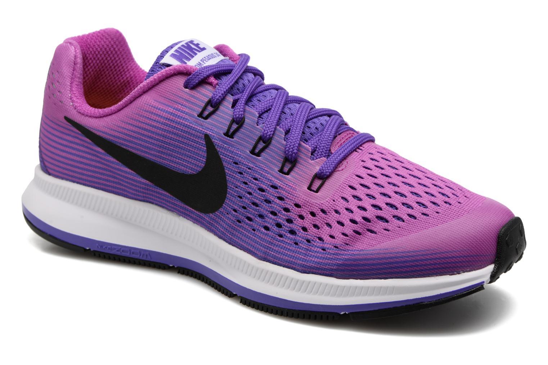 Baskets Nike Nike Zoom Pegasus 34 (Gs) Violet vue détail/paire