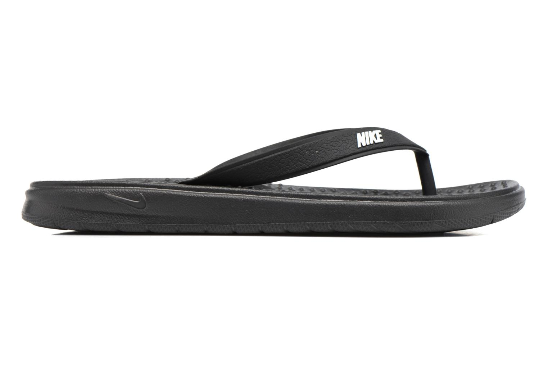 Tongs Nike Nike Solay Thong (Gs/Ps) Noir vue derrière