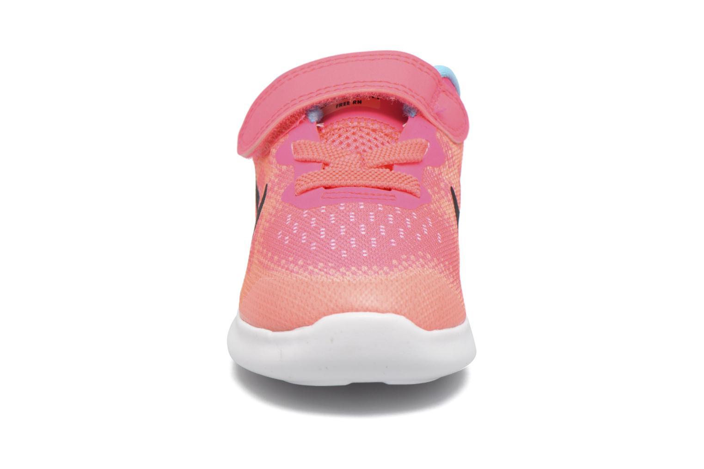 Nike Free Rn 2 (Tdv) Racer Pink/Black-Lava Glow-Pure Platinum