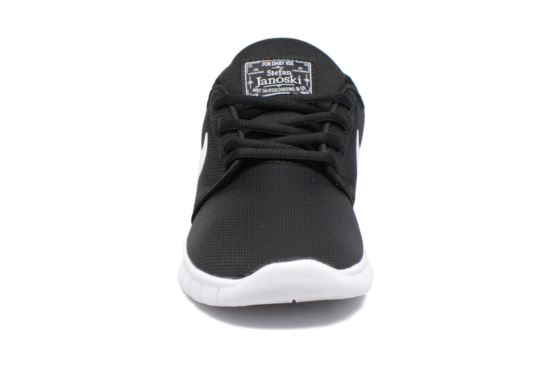 Baskets Nike Stefan Janoski Max (Gs) Noir vue portées chaussures