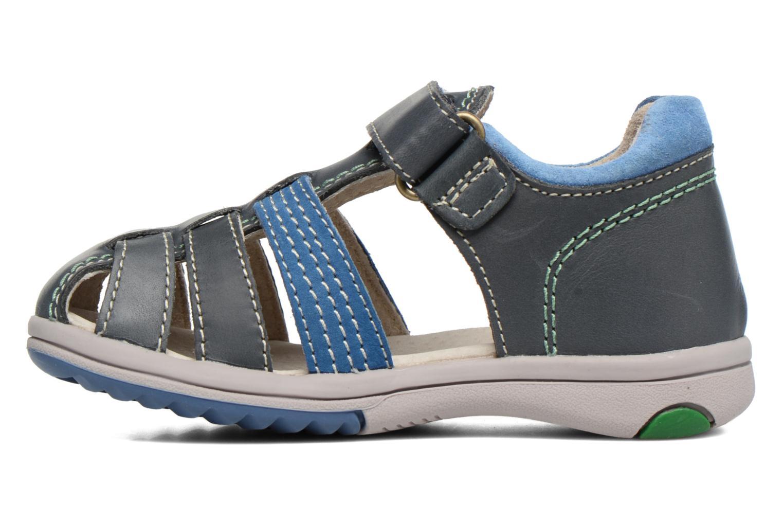 Sandali e scarpe aperte Kickers Platiback Azzurro immagine frontale