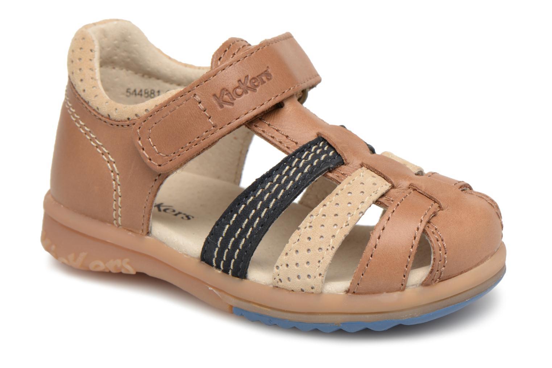 Sandali e scarpe aperte Kickers Platiback Marrone vedi dettaglio/paio
