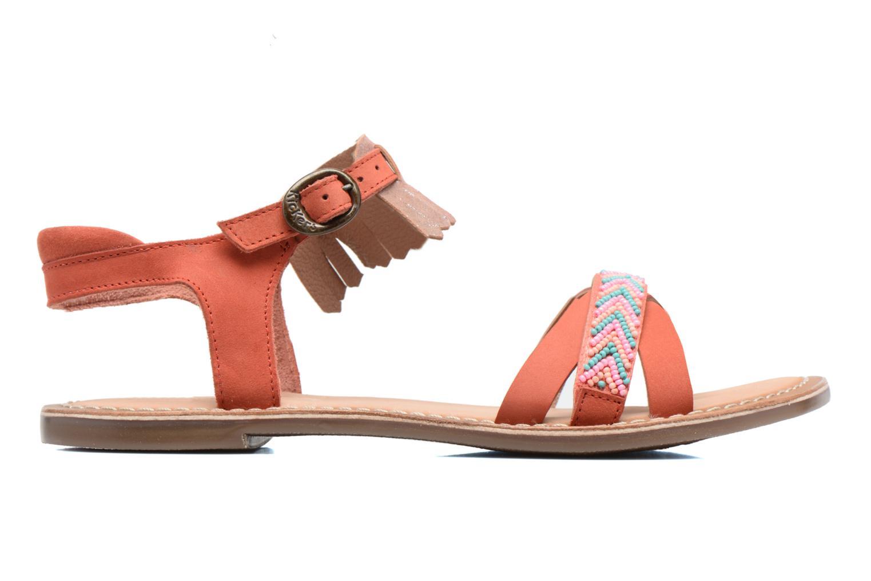 Sandales et nu-pieds Kickers Dixie Rose vue derrière