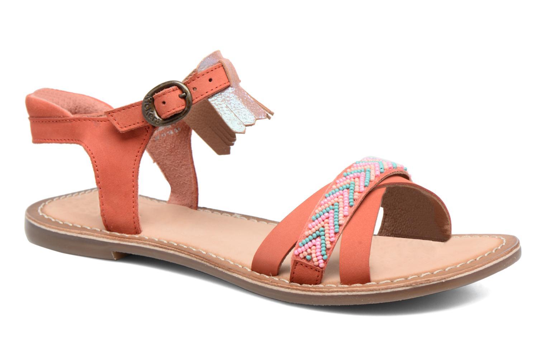 Sandales et nu-pieds Kickers Dixie Rose vue détail/paire