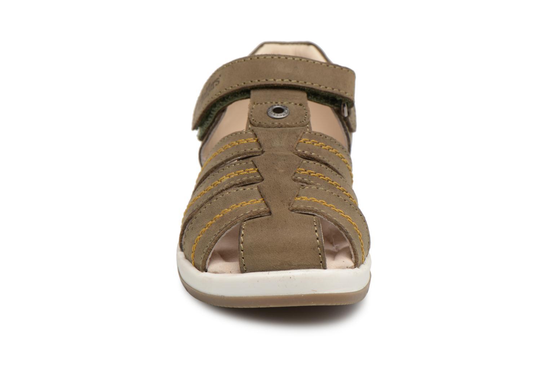 Sandalen Kickers Solaz Groen model