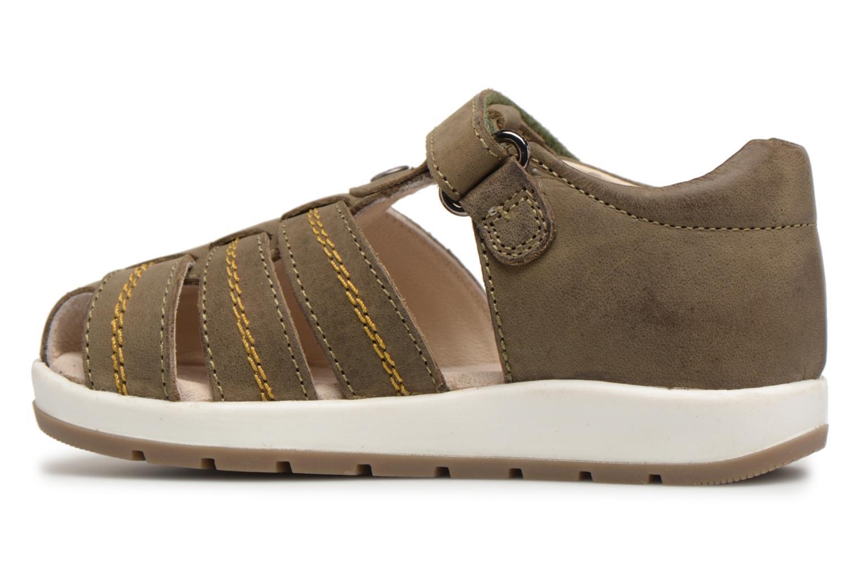 Sandalen Kickers Solaz Groen voorkant