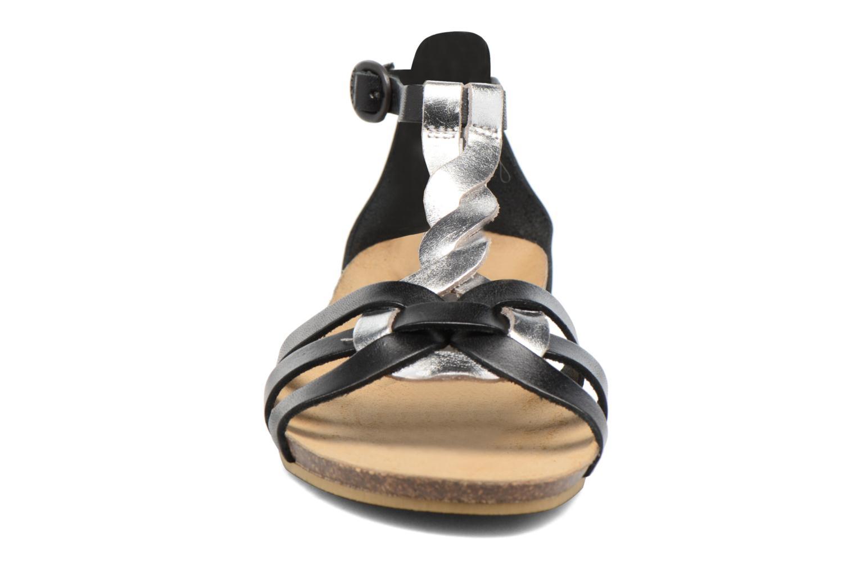 Sandalen Kickers Bomtardes schwarz schuhe getragen