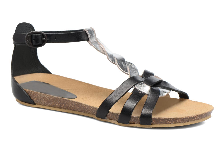 Sandalen Kickers Bomtardes schwarz detaillierte ansicht/modell