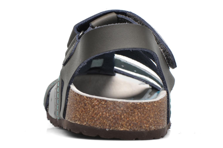 Sandales et nu-pieds Kickers Maginuevo Gris vue droite