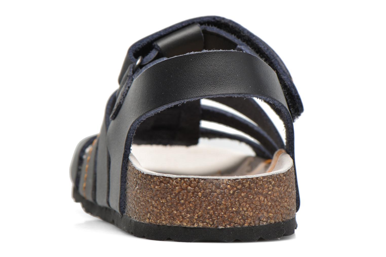 Sandales et nu-pieds Kickers Magiteam Noir vue droite
