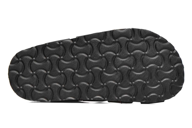Sandales et nu-pieds Kickers Magiteam Noir vue haut