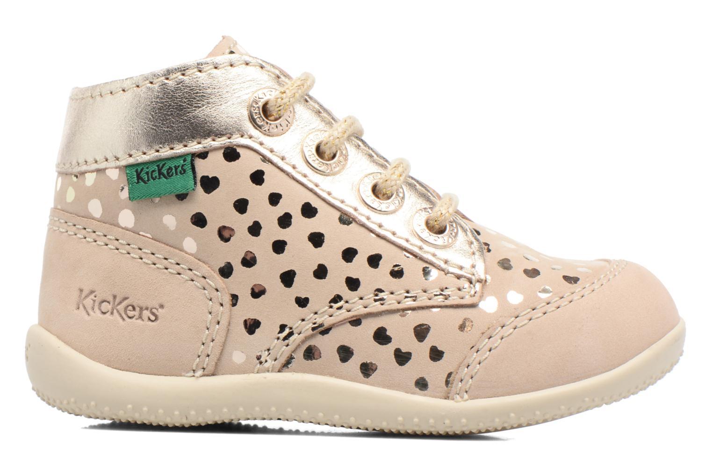 Chaussures à lacets Kickers Boetik Beige vue derrière
