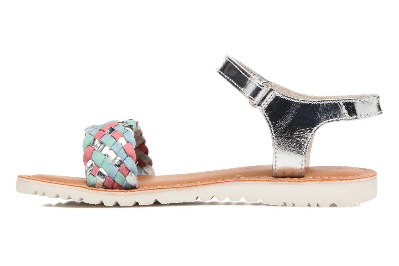 Sandali e scarpe aperte Kickers Brazil Multicolore immagine frontale