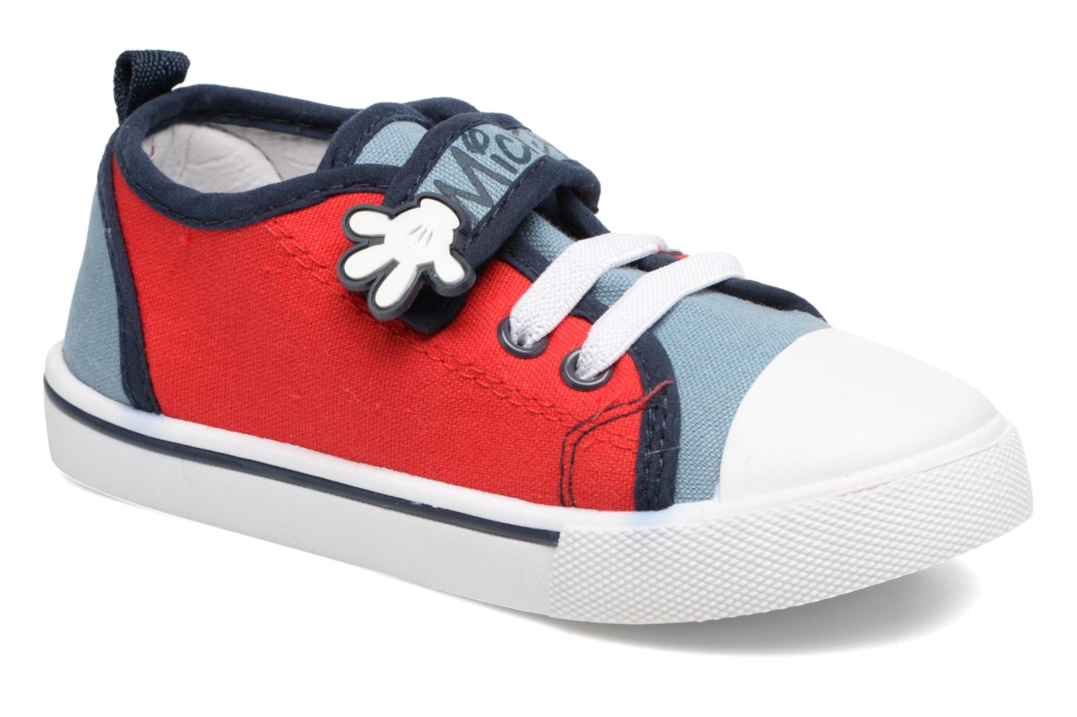 Baskets Mickey MICKEY Tim Rouge vue détail/paire