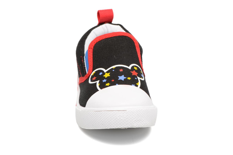 Baskets Mickey MICKEY Leo Noir vue portées chaussures
