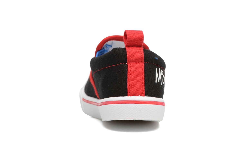 Baskets Mickey MICKEY Leo Noir vue droite