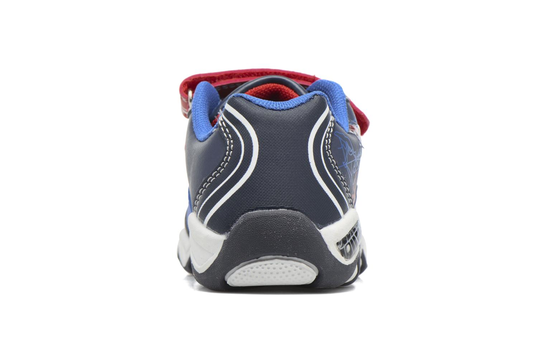 Baskets Spiderman Val Spiderman Bleu vue droite