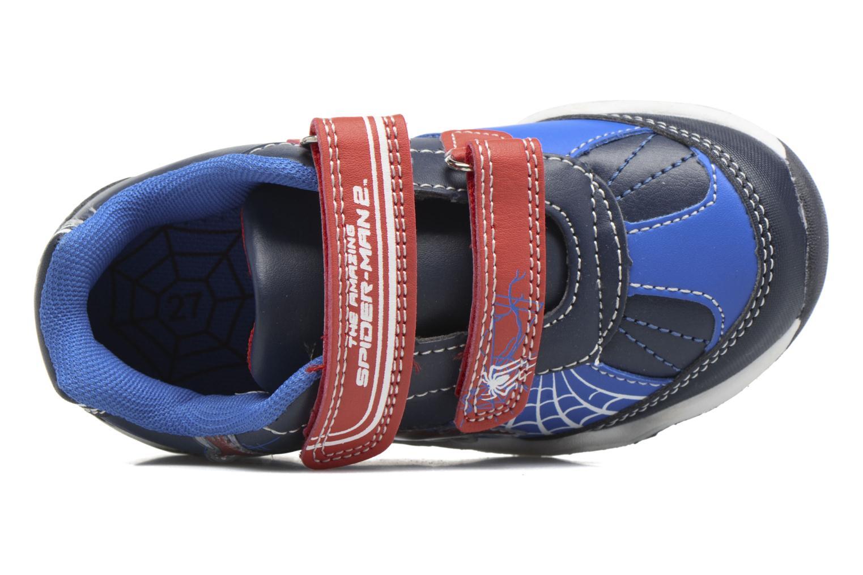 Baskets Spiderman Val Spiderman Bleu vue gauche