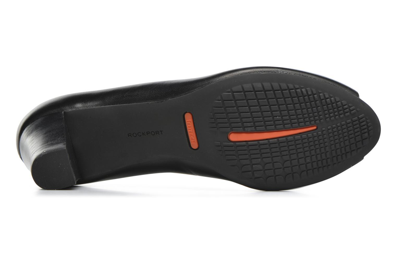 Zapatos de tacón Rockport Audrina Peep Negro vista de arriba