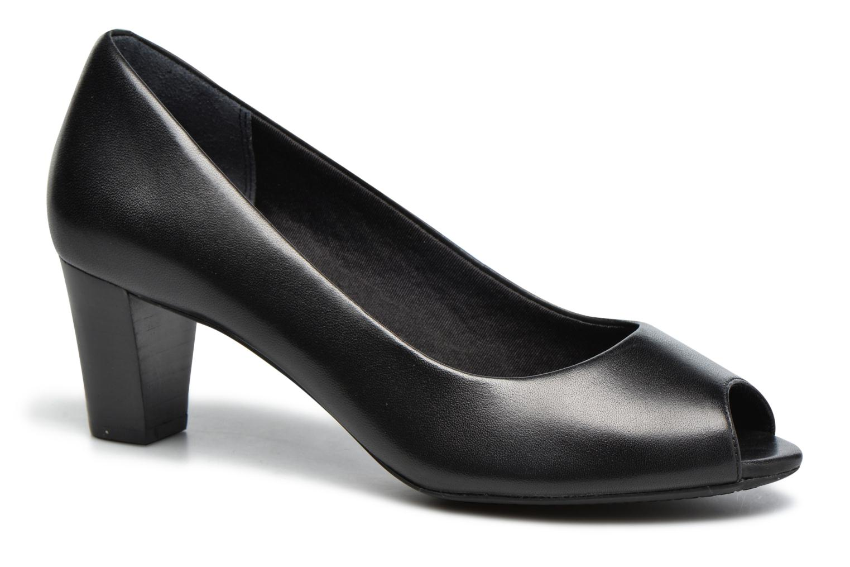 High heels Rockport Audrina Peep Black detailed view/ Pair view