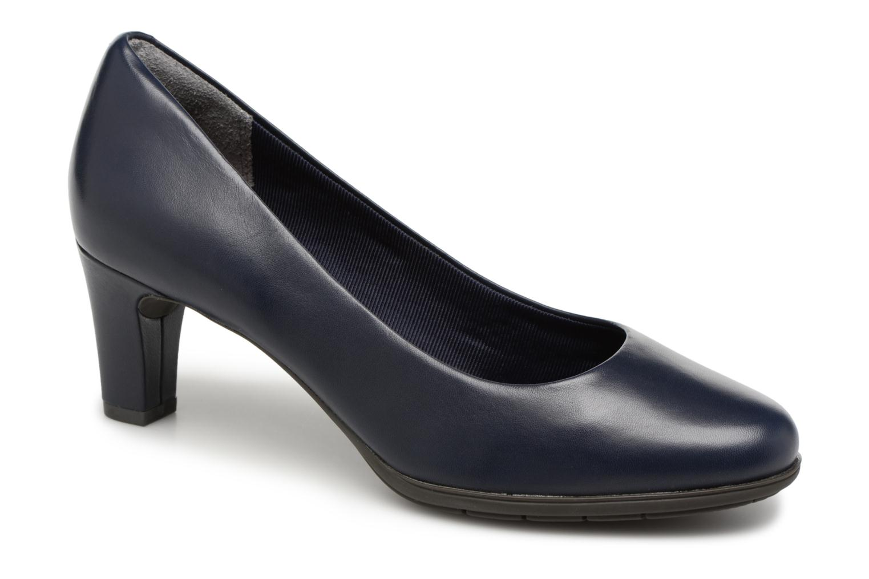 Høje hæle Rockport Melora Plain Pump Blå detaljeret billede af skoene