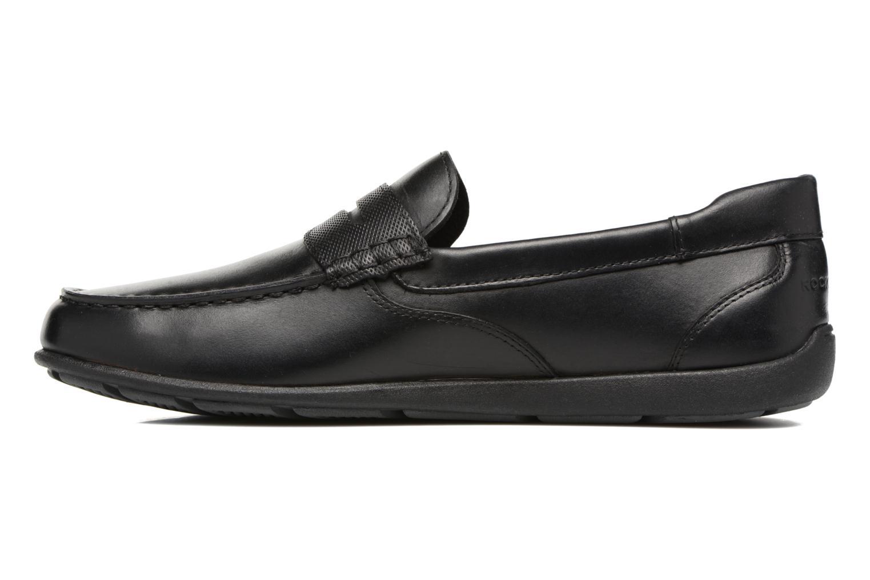 Bl4 Penny Black leather