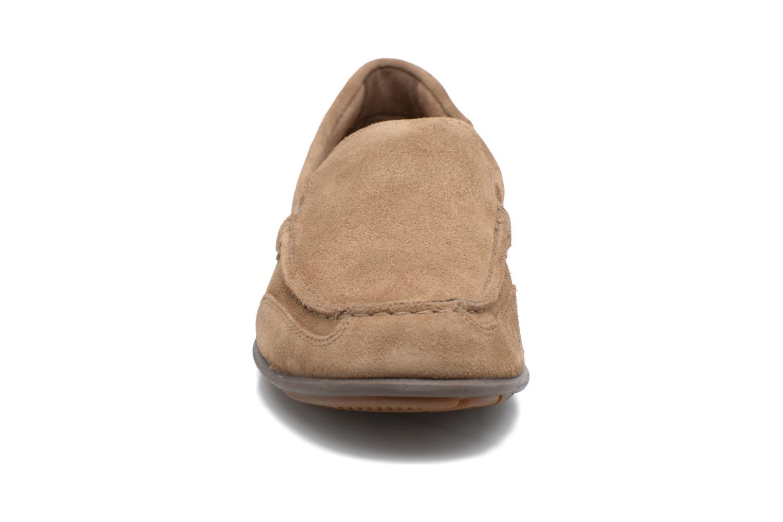 Mocassins Rockport Bl4 Venetian Beige vue portées chaussures