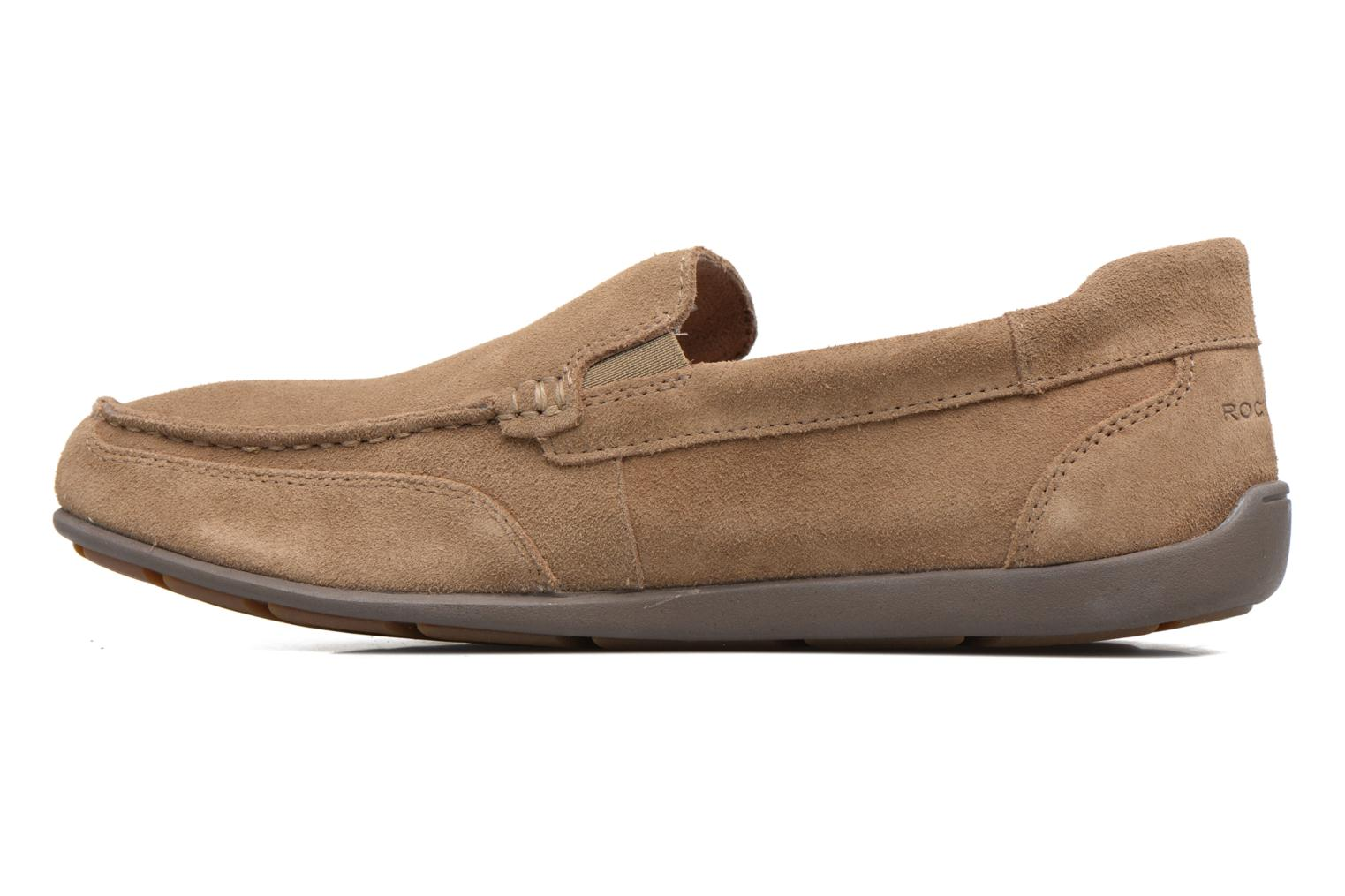 Loafers Rockport Bl4 Venetian Beige front view