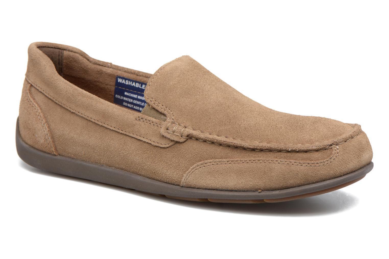 Loafers Rockport Bl4 Venetian Beige detaljeret billede af skoene