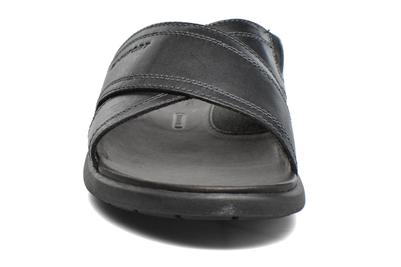 Sandales et nu-pieds Rockport Ds Crossband Noir vue portées chaussures