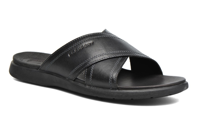 Sandales et nu-pieds Rockport Ds Crossband Noir vue détail/paire
